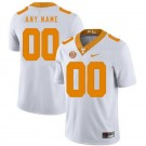Men's Tennessee Volunteers Customized Limited White Rush Color 2019 College Football Jersey