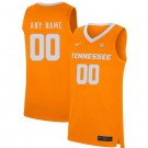 Men's Tennessee Volunteers Customized Orange 2019 College Basketball Jersey
