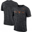 Men's Texas Longhorns Black Velocity Sideline Legend Performance T Shirt 201071