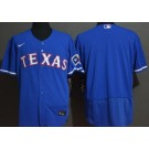 Men's Texas Rangers Blank Blue FlexBase Jersey