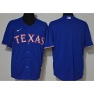 Men's Texas Rangers Blank Royal 2020 Cool Base Jersey
