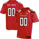 Men's Texas Tech Customized Red College Football Jersey