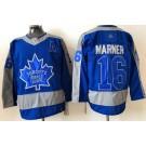 Men's Toronto Maple Leafs #16 Mitch Marner Blue 2021 Reverse Retro Authentic Jersey