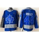 Men's Toronto Maple Leafs #44 Morgan Rielly Blue 2021 Reverse Retro Authentic Jersey