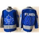 Men's Toronto Maple Leafs #88 William Nylander Blue 2021 Reverse Retro Authentic Jersey