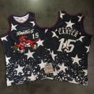 Men's Toronto Raptors #15 Vince Carter Black Independence Day Authentic Jersey
