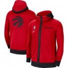 Men's Toronto Raptors Red Showtime Performance Full Zip Hoodie Jacket