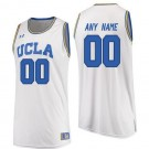Men's UCLA Bruins Customized White College Basketball Jersey