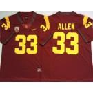 Men's USC Trojans #33 Marcus Allen Red 2020 College Football Jersey