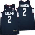 Men's Uconn Huskies #2 James Bouknight Navy College Basketball Jersey