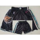 Men's Vancouver Grizzlies Black 2021 City Swingman Shorts