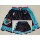 Men's Vancouver Grizzlies Black Classic Swingman Shorts