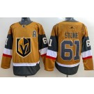 Men's Vegas Golden Knights #61 Mark Stone Gold 2020 Alternate Authentic Jersey