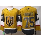 Men's Vegas Golden Knights #75 Ryan Reaves Gold 2020 Alternate Authentic Jersey