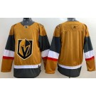 Men's Vegas Golden Knights Blank Gold 2020 Alternate Authentic Jersey