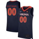 Men's Virginia Cavaliers Customized Navy 2019 College Basketball Jersey