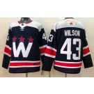 Men's Washington Capitals #43 Tom Wilson Navy Alternate Authentic Jersey