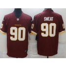Men's Washington Football Team #90 Montez Sweat Limited Red Vapor Untouchable Jersey