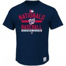 Men's Washington Nationals Printed T Shirt 10756