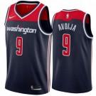 Men's Washington Wizards #9 Deni Avdija Navy Statememt Icon Hot Press Jersey