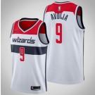 Men's Washington Wizards #9 Deni Avdija White Icon Hot Press Jersey
