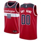 Men's Washington Wizards Customized Red Icon Swingman Nike Jersey