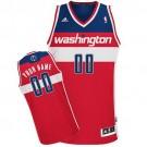 Men's Washington Wizards Customized Red Swingman Adidas Jersey