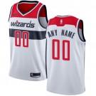 Men's Washington Wizards Customized White Icon Swingman Nike Jersey