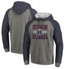 Men's Washington Wizards Gray 1 Printed Pullover Hoodie