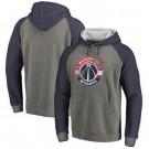 Men's Washington Wizards Gray 2 Printed Pullover Hoodie