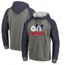 Men's Washington Wizards Gray 3 Printed Pullover Hoodie