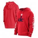 Men's Washington Wizards Red 2021 City Edition Fleece Pullover Hoodie