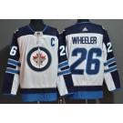 Men's Winnipeg Jets #26 Blake Wheeler White Authentic Jersey