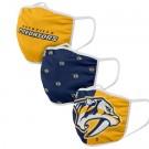 Nashville Predators FOCO Cloth Face Covering Civil Masks 3 Pics