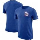 New York Giants Marled Stadium Heathered Printed T Shirt 200833