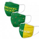 Oregon Ducks FOCO Cloth Face Covering Civil Masks 3 Pics