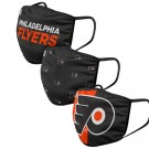 Philadelphia Flyers FOCO Cloth Face Covering Civil Masks 3 Pics
