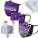 Sacramento Kings FOCO Cloth Face Covering Civil Masks 3 Pics