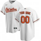 Toddler Baltimore Orioles Customized White 2020 Cool Base Jersey