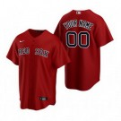 Toddler Boston Red Sox Customized Red Alternate 2020 Cool Base Jersey
