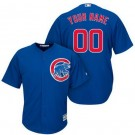 Toddler Chicago Cubs Customized Blue Cool Base Jersey