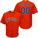 Toddler Houston Astros Customized Orange Cool Base Jersey