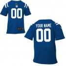 Toddler Indianapolis Colts Customized Game Blue Jersey