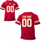 Toddler Kansas City Chiefs Customized Game Red Jersey