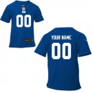 Toddler New York Giants Customized Game Blue Jersey