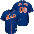 Toddler New York Mets Customized Blue Cool Base Jersey