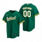 Toddler Oakland Athletics Customized Green Alternate 2020 Cool Base Jersey