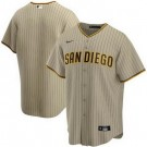 Toddler San Diego Padres Customized Khaki 2020 Cool Base Jersey
