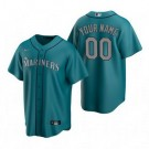 Toddler Seattle Mariners Customized Aqua Alternate 2020 Cool Base Jersey