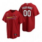 Toddler St Louis Cardinals Customized Red Alternate 2020 Cool Base Jersey